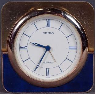 Seiko Folding Desk Clock