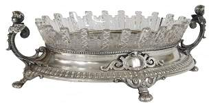 Eduard Foerh German 800 Silver Centerpiece