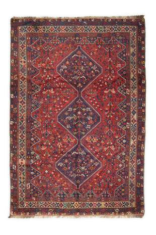 Large Antique Persian shiraz/ Qashqai rugs 318 X 220 Cm