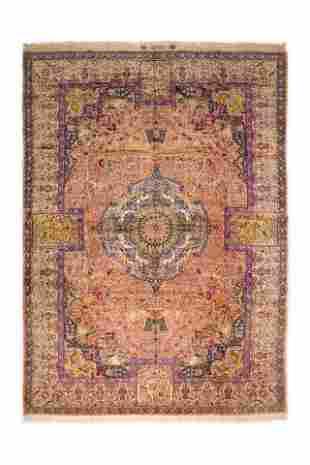 Antique Tabriz 484 X 346 Cm