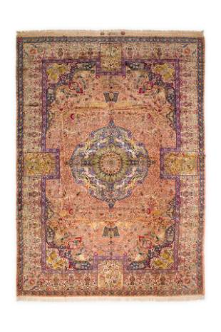 Antique Tabriz 484 X 346 Cm
