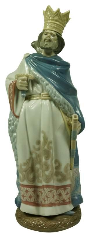 Large Lladro Figure of Saint