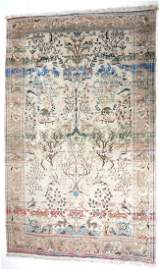 "96.5"" L X 56.5"" W Circa 1880 Tabrize Antique Handmade K"