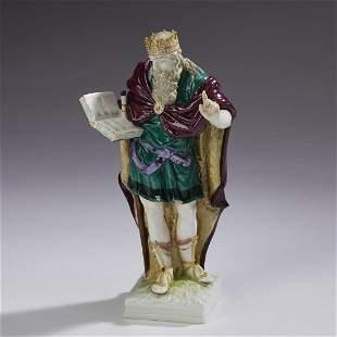 Kpm Porcelain Figure Of Rhadamanthus, 19Th C.