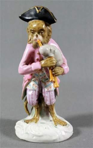 German Porcelain Money Band Figure