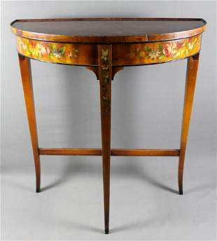 Gorgeousfrench Painted Console
