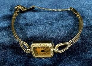 .5G 14K Yg Ladies Diamond Watch