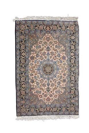 An Lsphahan Silk Foundation Rug