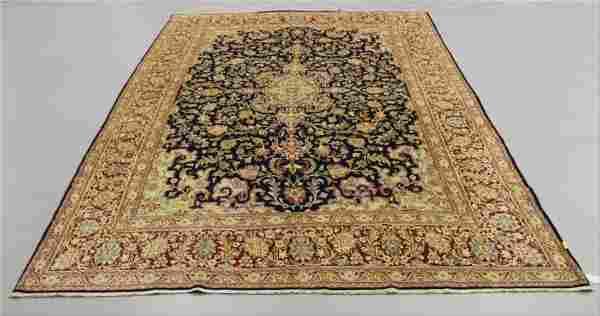 Antique Kerman Wool Rug Iran