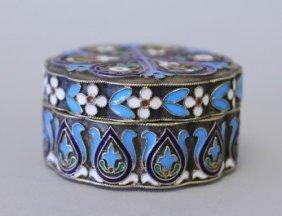 329: 19TH CENTURY RUSSIAN ENAMEL BOX