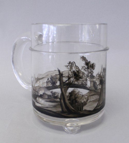 349: 19TH CENTURY LOBMYER GLASS