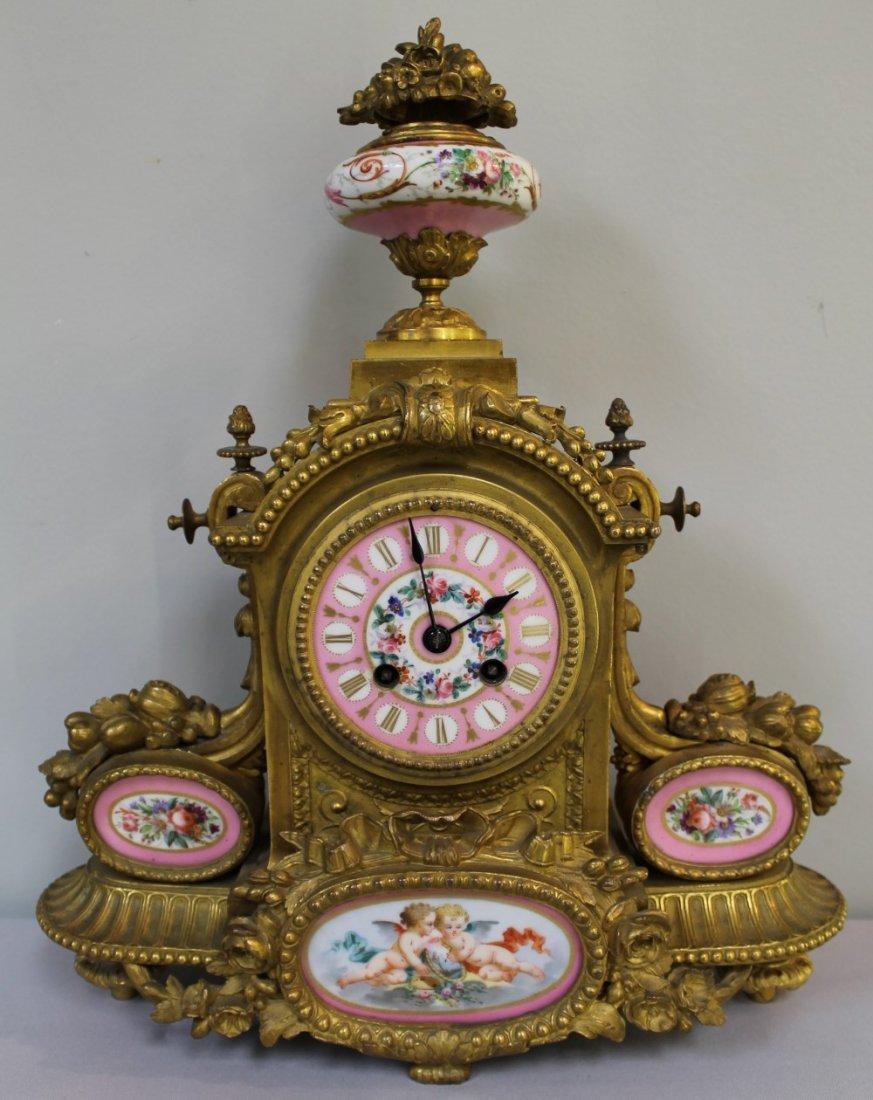 19TH C. SEVRES CLOCK