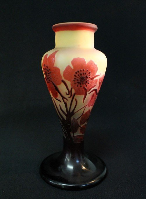 GALLE' MULTICOLOR FLOWER VASE