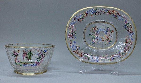 Lobmeyr Cup And Saucer
