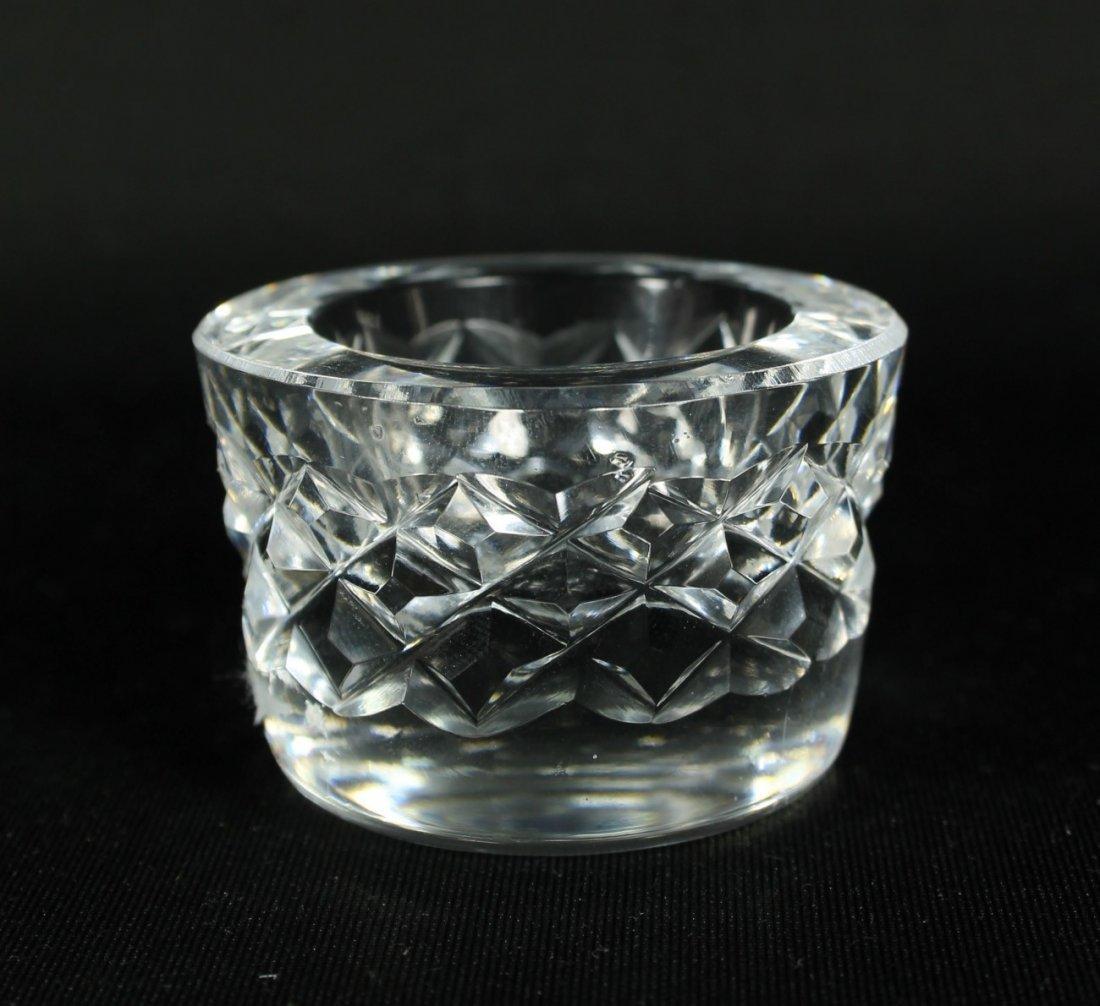 CUT GLASS WATERFORD SALT