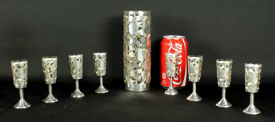 STERLING AND GLASS SHOTS