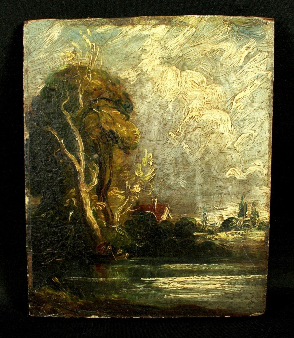 OIL PAINTING JOHN CONSTABLE CIRCA 1877