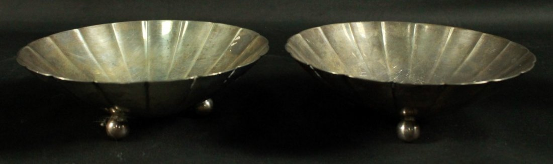 PAIR OF TIFFANY AND CO. STERLING SILVER BOWLS
