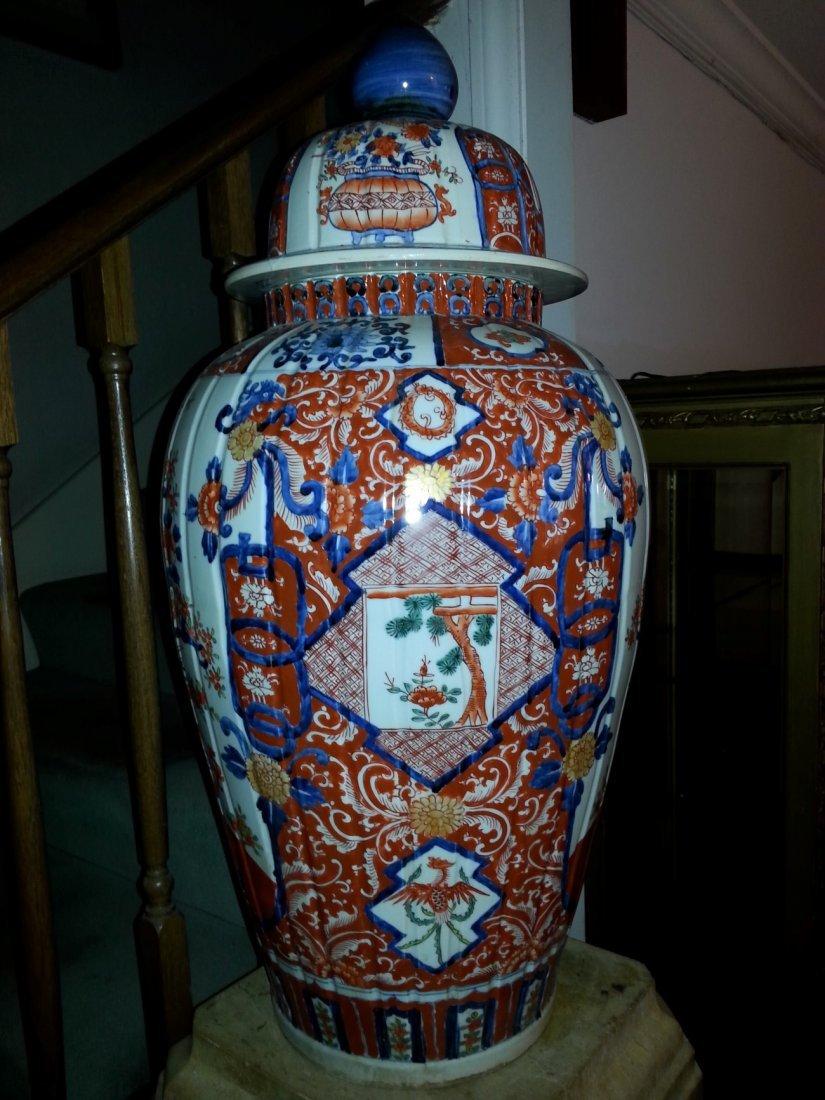 Large Antique Imari vase