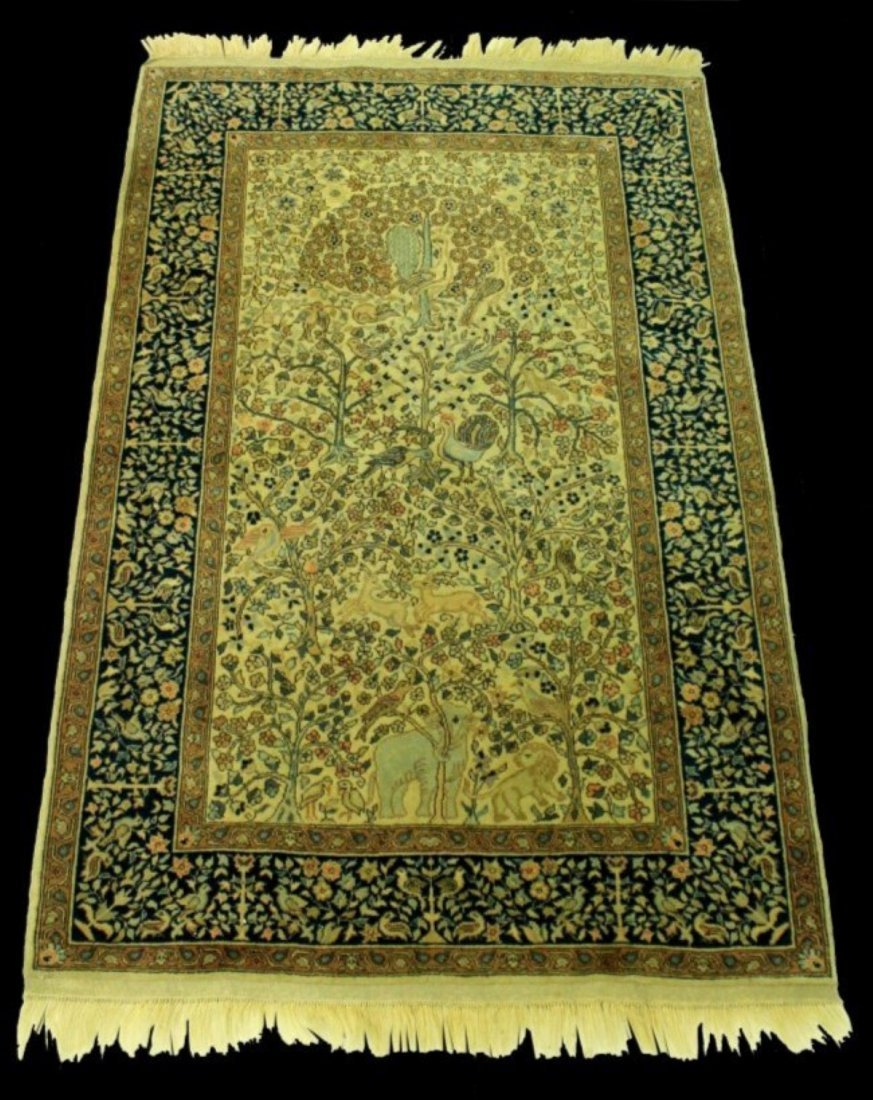TURKISH TREE OF LIFE RUG