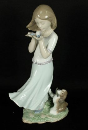 Lladro Whispering Breeze