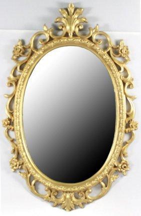 Antique Gilt Mirror