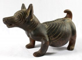 18th C. Colima Dog Style Effigy Figure