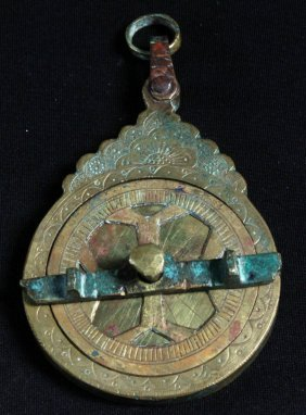 An Indo Perisan Brass Astrolabe