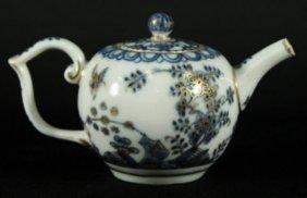 18th Century Authentic Meissen Diminutive Teapot
