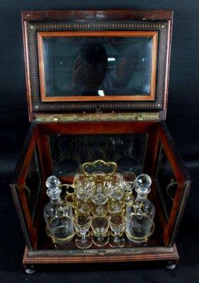 19th C. Tantalus Set
