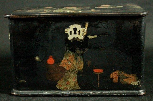 ANTIQUE CHINESE JEWELERY BOX