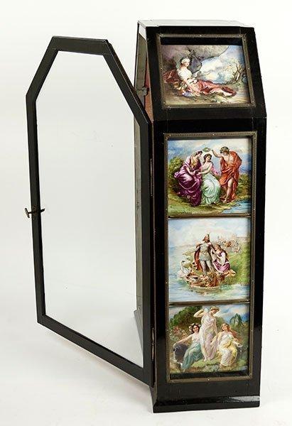 A 19th Century German Tabletop Curio Cabinet. - 3