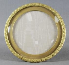 BRONZE OVAL PICTURE FRAME