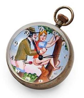 Erotic Animal Related / Themed Ball Clock