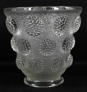 VERLYS FROSTED GLASS BUBBLE VASE