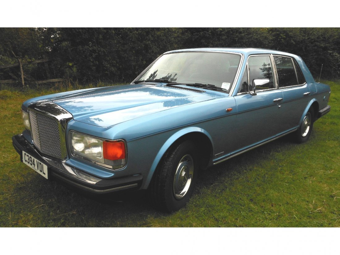 1: A Bentley Eight first registered on 7th March 1986,
