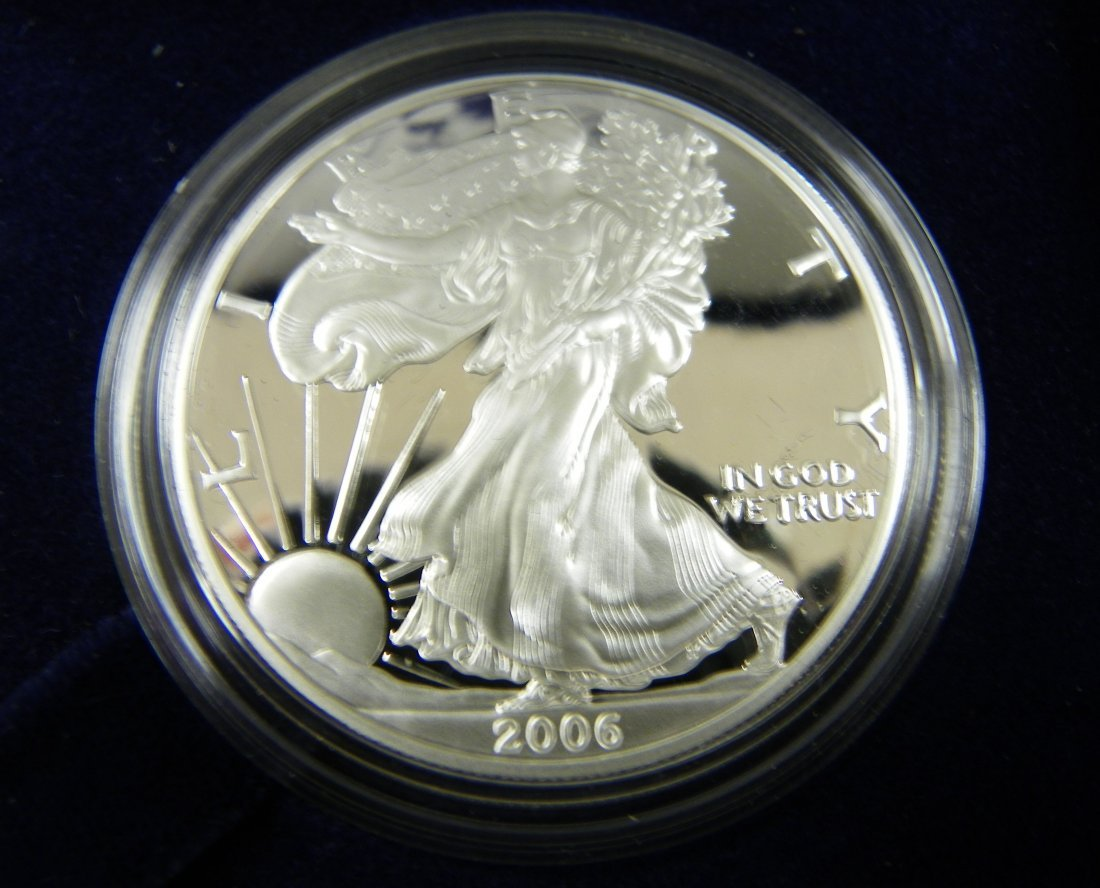 291: Coin: Proof  2006