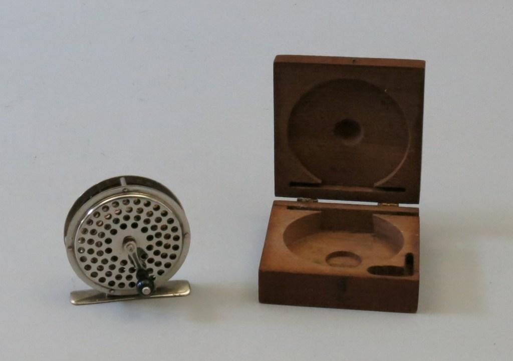 C.F.  Orvis 1874 Reel with Walnut Box