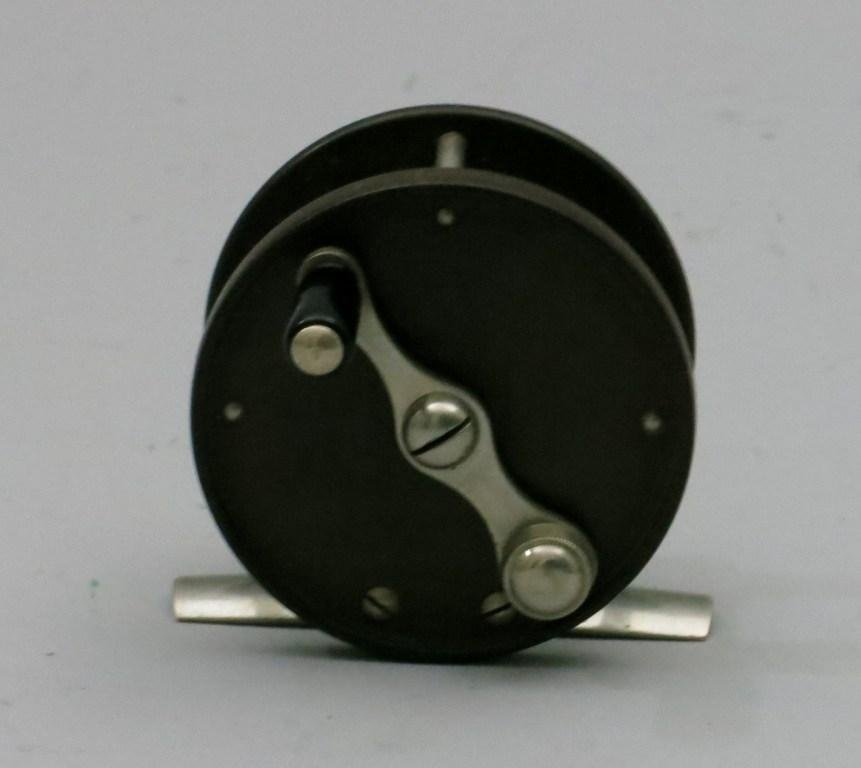 Unmarked Montague Hard Rubber Trout Reel