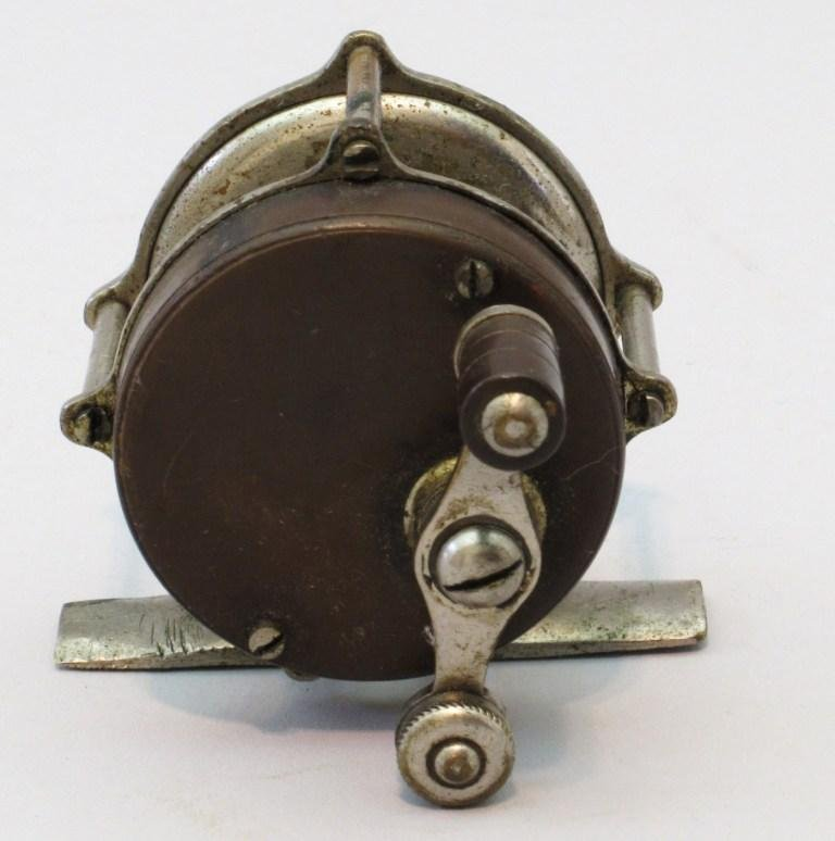 Small Trout Reel Marked Spalding Trade Mark