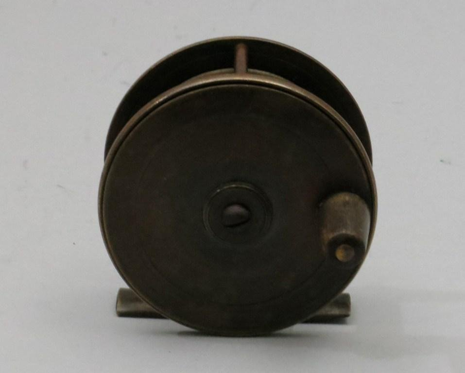 English Brass Trout Reel