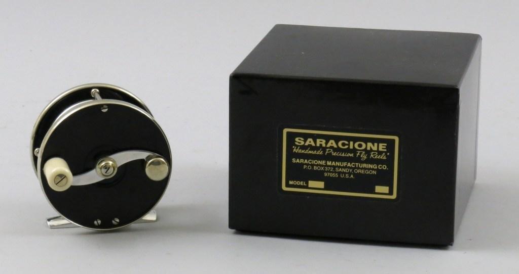 Saracione Deluxe Trout Reel