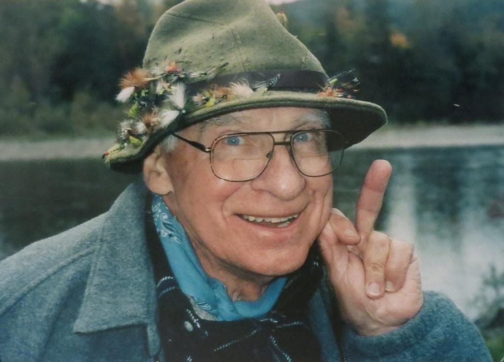Color Photograph of Reel Maker Stan Bogdan