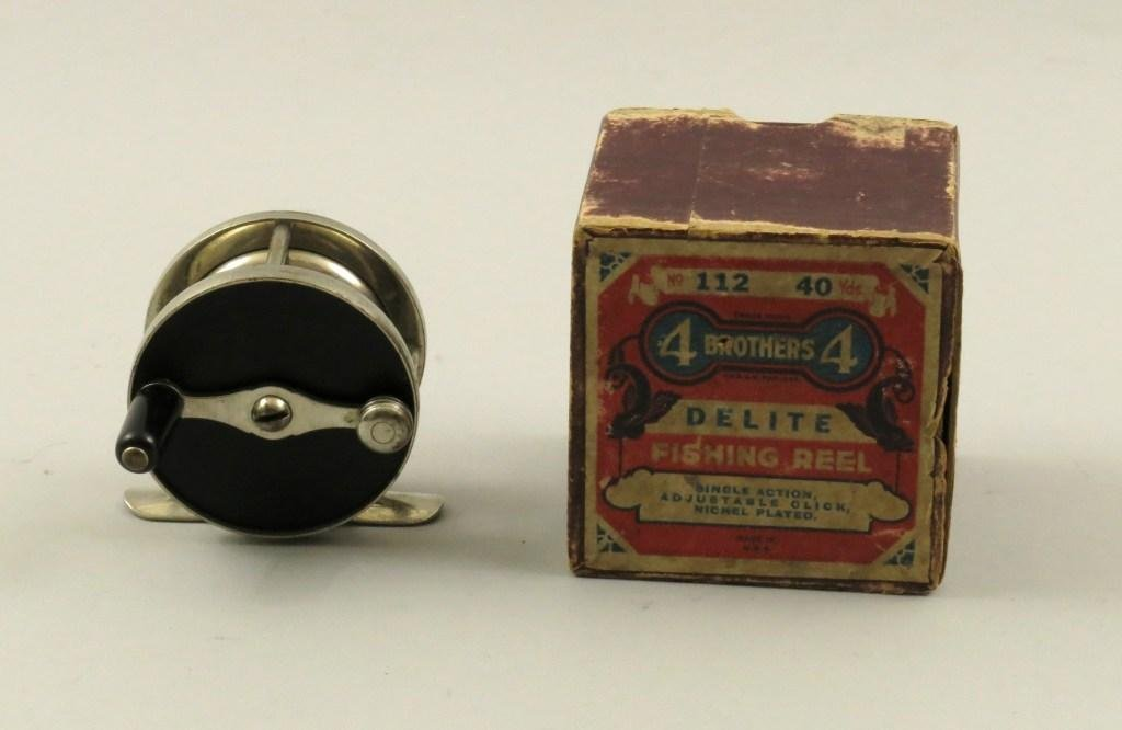 4 Brothers Delite 40 Yd. Trout Reel with Box
