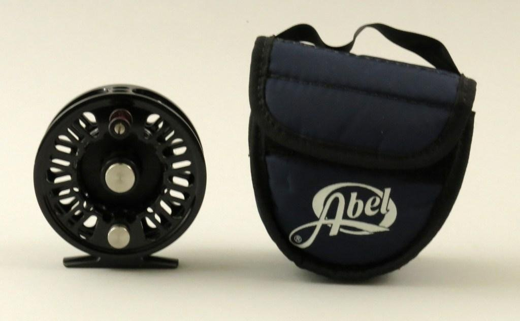 Abel Super 5N Fly Reel Gloss Black