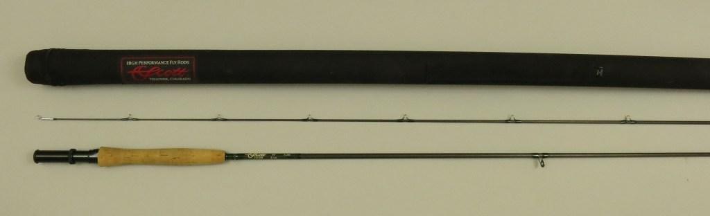 """Scott 8'6""""- 2/1, 5wt, 3.1oz., Graphite Fly Rod - 3"""