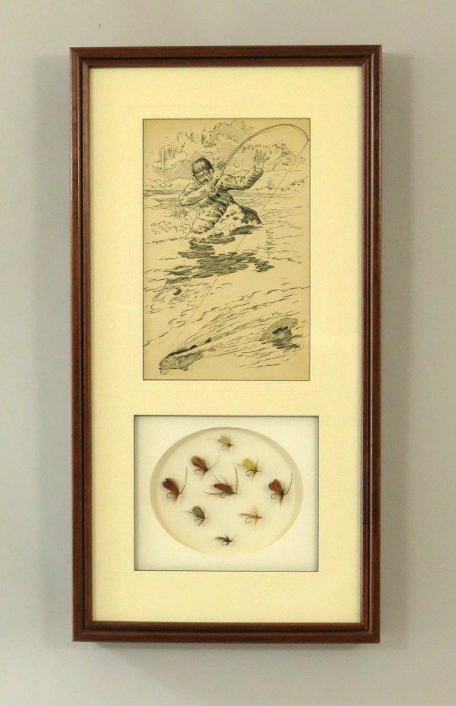Original Louis Rhead Pen and Ink