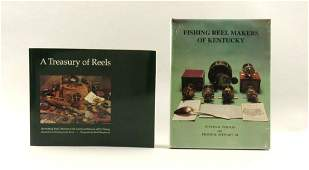 Two Reference Books on Fishing Reels