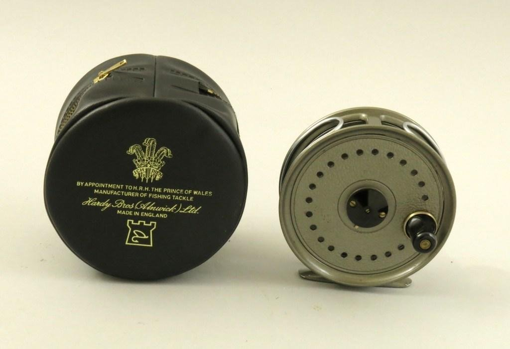 J.W. Young Beaudex Salmon Fly Reel