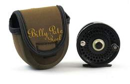Billy Pate Salmon reel made by Ted Juracsik
